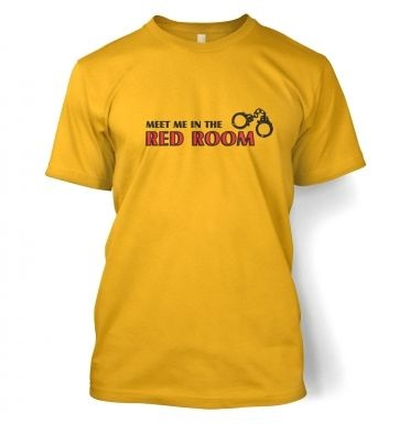 Meet me in the red room t-shirt