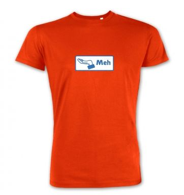 Meh Button  premium t-shirt