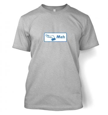 Meh Button  t-shirt
