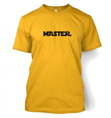 Men's Master Tshirt - Inspired by Star Wars