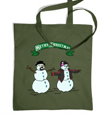 Methy Christmas tote bag