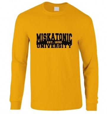 Miskatonic University long-sleeved t-shirt