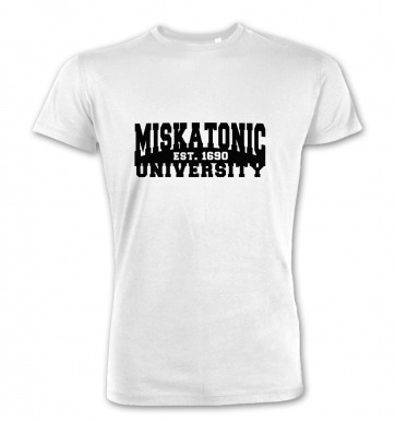 Miskatonic University premium t-shirt