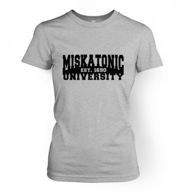 Miskatonic University women's t-shirt