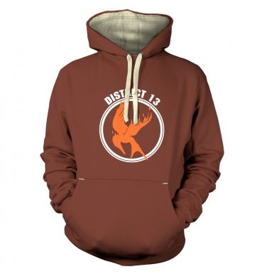 Mockingjay District 13 hoodie (premium)