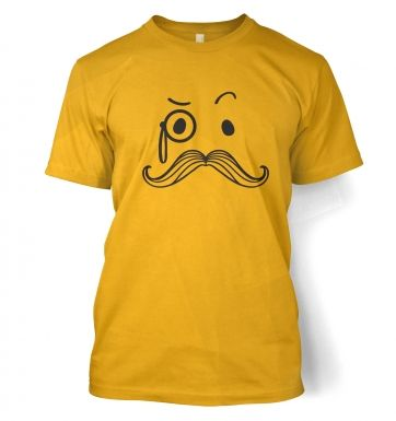 Monocle and Moustache t-shirt