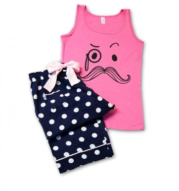 Monocule & Moustache pyjamas (womens)