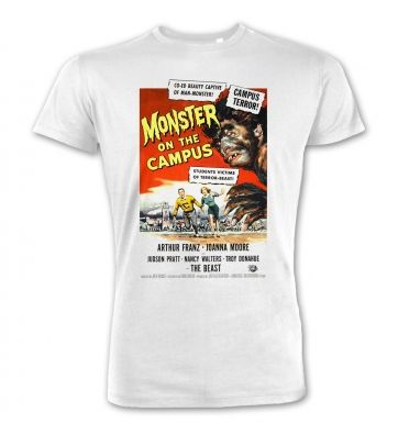 Monster On The Campus premium t-shirt