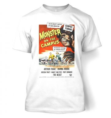 Monster On The Campus  t-shirt