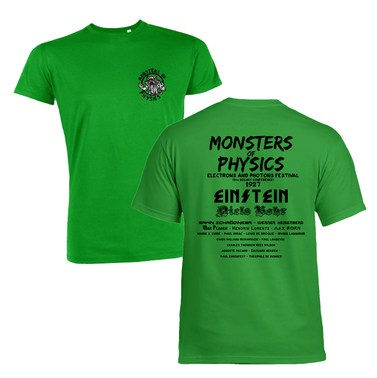 Monsters Of Physics (Front and Back) Premium t-shirt