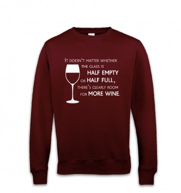 More Wine sweatshirt