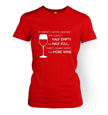 More Wine women's t-shirt