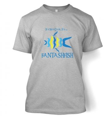 Moustache Fish  t-shirt
