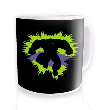 Mr Mean And Green ceramic coffee mug mug