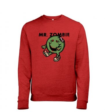 Mr.Zombie heather sweatshirt