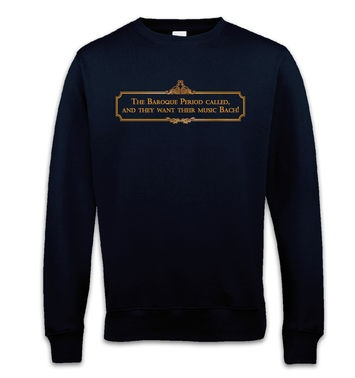 Music Bach sweatshirt
