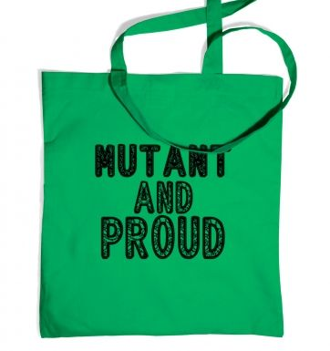 Mutant And Proud tote bag