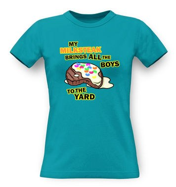 My Milksteak (Boys) classic women's t-shirt
