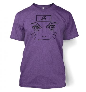 Naruto Face  t-shirt