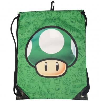 Nintendo Super Mario Bros gym bag - 1UP Mushroom