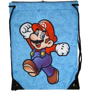 Nintendo Super Mario Bros gym bag - Mario
