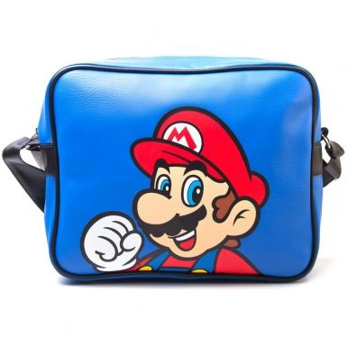 Nintendo Super Mario Bros airline messenger bag - Mario