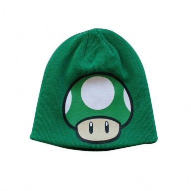 Nintendo Super Mario Bros reversible beanie - 1UP Mushroom