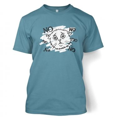 No no no cat t-shirt
