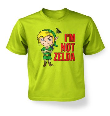 Not Zelda kids t-shirt