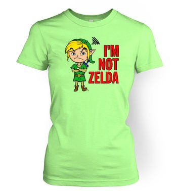 Not Zelda women's t-shirt