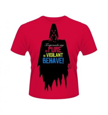 2000AD Torquemada Be Pure t-shirt - Official