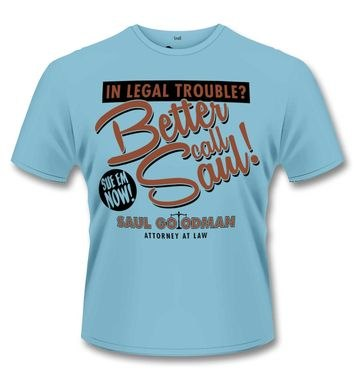 Official Breaking Bad Better Call Saul t-shirt
