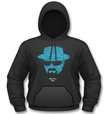 Official Breaking Bad Heisenberg Crystal Face hoodie
