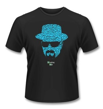 Official Breaking Bad Heisenberg Crystal Face t-shirt