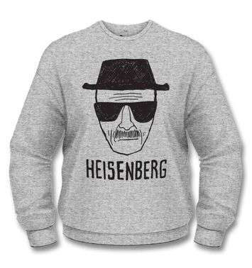 Official Breaking Bad Heisenberg Sketch sweatshirt