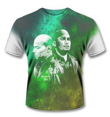 Official Breaking Bad SubDye Los Primos t-shirt