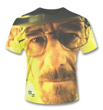 Official Breaking Bad SubDye Walter White t-shirt