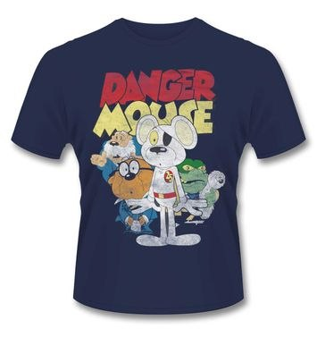 Official Danger Mouse t-shirt