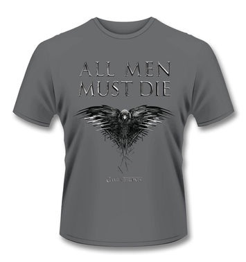Official Game Of Thrones All Men Must Die t-shirt