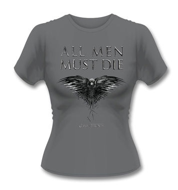 Official Game Of Thrones All Men Must Die women's t-shirt