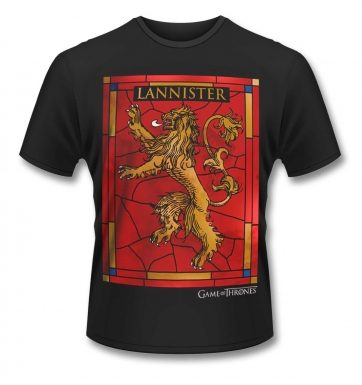 Official Game Of Thrones House Lannister t-shirt
