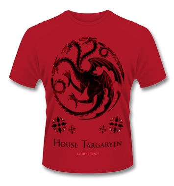 Official Game Of Thrones House Targaryen t-shirt