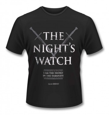 Official Game Of Thrones Night's Watch t-shirt