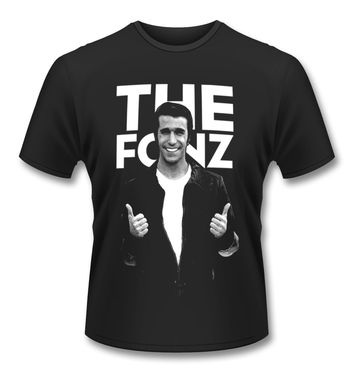 Official Happy Days The Fonz t-shirt