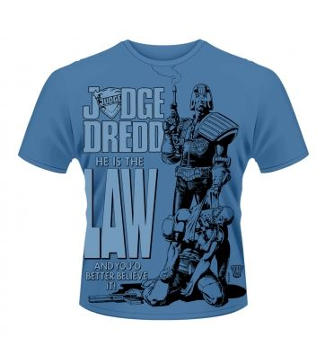 Judge Dredd He Is The Law t-shirt - Official