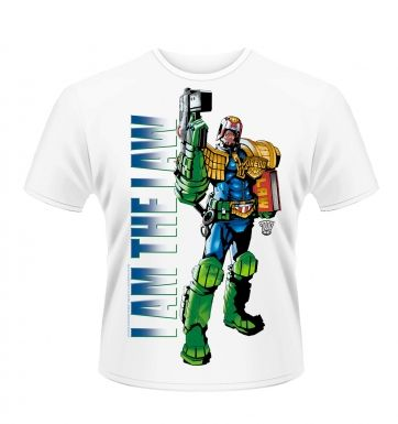Judge Dredd I Am The Law 2 t-shirt - Official