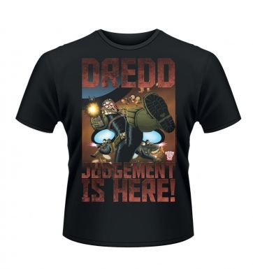 Judge Dredd Judgement is here t-shirt - Official