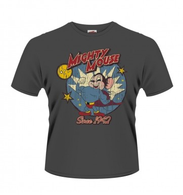 Official Mighty Mouse Since 1942 t-shirt