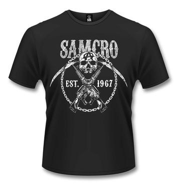 Official Sons Of Anarchy Cross Guns t-shirt