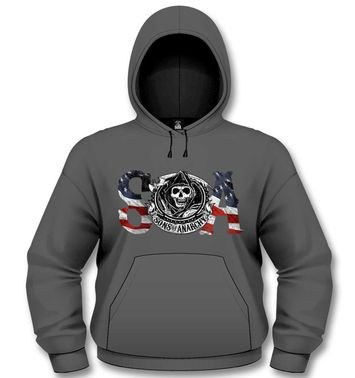 Official Sons Of Anarchy Flag hoodie